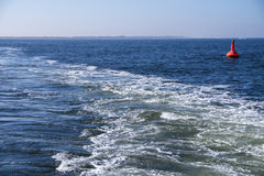 North sea and buoy Royalty Free Stock Photography