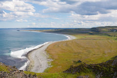 North Sea Coast, sunny weather Royalty Free Stock Images