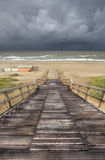 North Sea Coast Stock Images