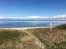 North sea, Denmark. North sea beach in Denmark Royalty Free Stock Photography