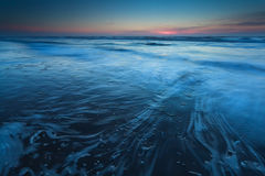 North sea in dusk Royalty Free Stock Photos