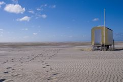 North Sea Island Borkum Stock Images