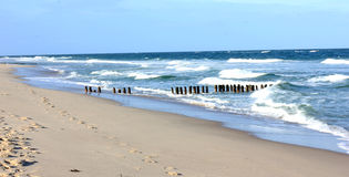 North Sea island of Sylt Westerland Royalty Free Stock Images