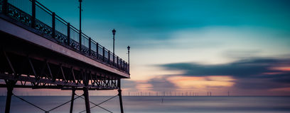 North Sea long exposure Stock Photo