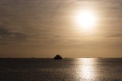 North sea near the island Foehr Royalty Free Stock Photo
