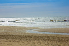 North Sea, Netherlands Royalty Free Stock Photography