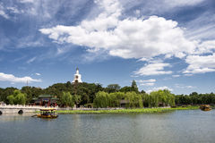 The north sea park in beijing Stock Photo