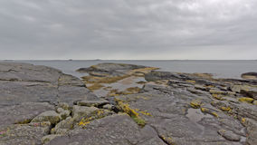 North sea rock coast in Rogaland, Norway Stock Photo