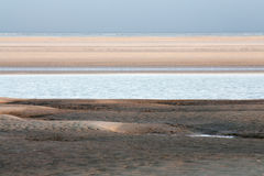 North Sea and sand banks Stock Photography