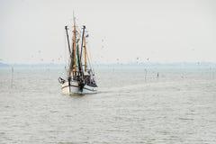 North Sea shrimp boats Stock Photography