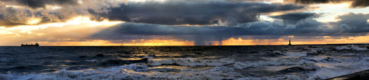 North Sea Storm Stock Image