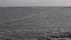 North Sea Water Norway stock video footage