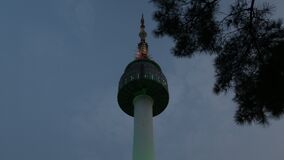 North Seoul Tower Low Angle Tracking