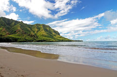 North Shore Beach in Hawaii Royalty Free Stock Photography