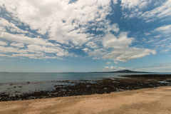 North Shore coastline Stock Photo