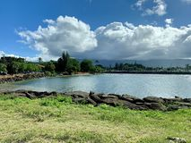 North Shore Haleiwa, Oahu Hawaii stock photo