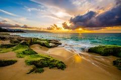 Free North Shore Hawaii Sunset Stock Photos - 112935603