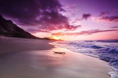 North Shore Sunset Stock Image