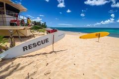 North Shore Surf Rescue stock image