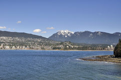 North shore of Vancouver Royalty Free Stock Images