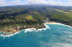 North Shore and Waimea Bay Stock Images