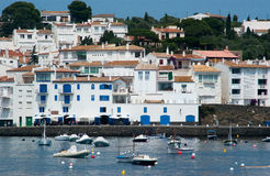North side of Cadaques Catalunya Spain Royalty Free Stock Images