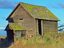 North Side of Historic out building. I jest like this building it is located in the outback of Oregon Royalty Free Stock Image