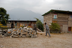 North Sikkim Village Stock Photos