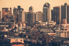 North Skyline San Diego Royalty Free Stock Images