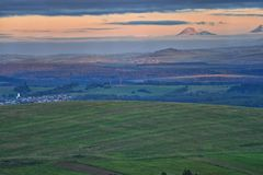 North of Slovakia. Landscape in the north of Slovakia stock images