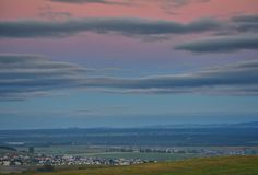 North of Slovakia. Landscape in the north of Slovakia royalty free stock photography