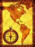 North and South America Royalty Free Stock Images