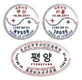North & South Korea Stock Photos