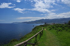 North Spanish coastal path. Asturias Royalty Free Stock Photo