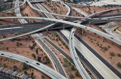 North Stack Interchange Royalty Free Stock Photos