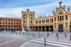 North Station in Valencia, Spain. Stock Image