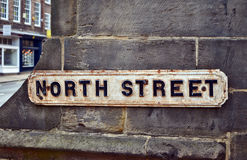 North street Stock Photography