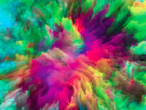 North of Surreal Paint Royalty Free Stock Image