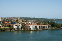 North Sydney - Australia. North Sydney Residential Buildings - Australia Royalty Free Stock Photography