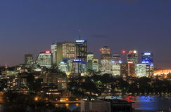 North Sydney downtown cityscape Sydney Australia Royalty Free Stock Images
