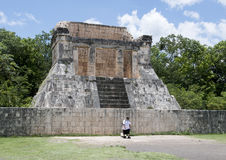 North Temple of the Great Ball Court, Chichen Itza Royalty Free Stock Photography