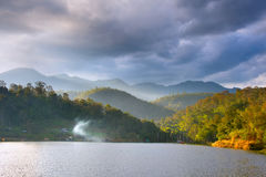 North Thailand landscape Royalty Free Stock Photo