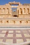 North Theater at Jerash ruins (Jordan) Stock Photography