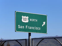 101 North to San Francisco Stock Photos