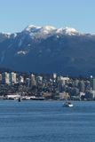 North Vancouver, Burrard Inlet, Coast Mountains Stock Image
