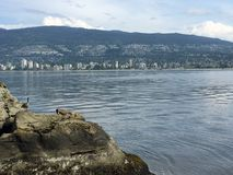 North Vancouver Mountains Royalty Free Stock Photos