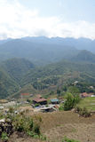 In North Vietnam. Views of North Vietnam mountains royalty free stock photo