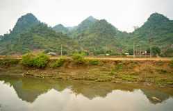 North Vietnamese Landscape. Royalty Free Stock Photos