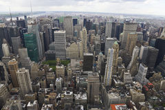 North view of Manhattan Royalty Free Stock Photos