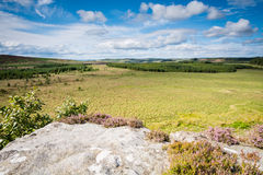 North view from Wanney Crags Stock Photography